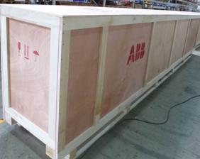 一个完整木箱木箱包装出口的设计方案